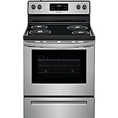 30-inch Freestanding Electric Range in Stainless Steel
