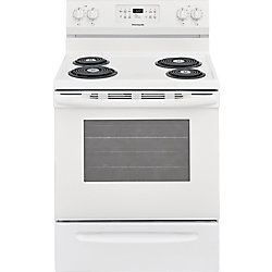 30-inch 5.4 cu. ft. Freestanding Electric Range with Self-Cleaning Oven in White