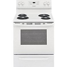 30 inch Freestanding Electric Range - White