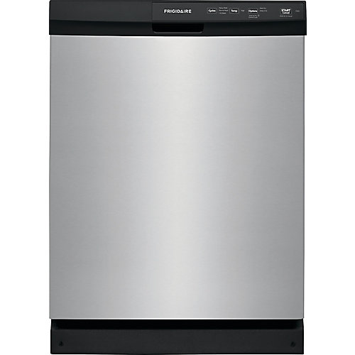 24 inch Built-In Dishwasher - Stainless Steel