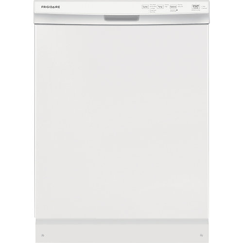 24 inch Built-In Dishwasher - White
