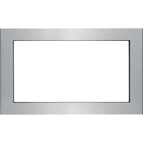 30-inch Trim Kit for Built-In Microwave Oven in Smudge-Proof Stainless Steel