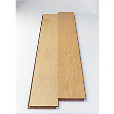 White Oak 5-inch W Engineered Hardwood Flooring with Attached Underlayment (25.84 sq. ft./case)