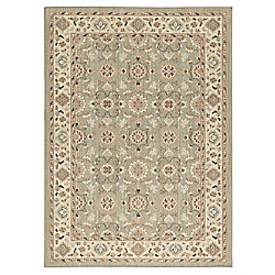 Lifeproof Natural Harmony Willow Grey 5 ft. x 7 ft. Indoor Area Rug