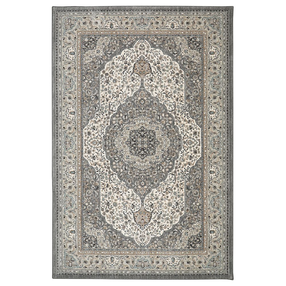 Lifeproof Avonmore Grey 5 ft. 3-inch x 7 ft. 10-inch Indoor Area Rug