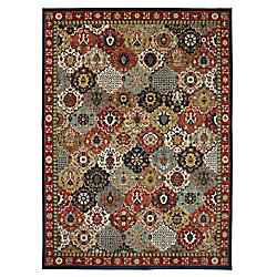 Lifeproof Ledford Multi-Colour 5 ft. 3-inch x 7 ft. 10-inch Indoor Area Rug
