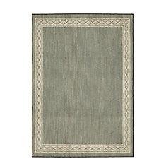 Sparrow Elephant Gray/ Bone White 5 ft. x 7 ft. Indoor Area Rug