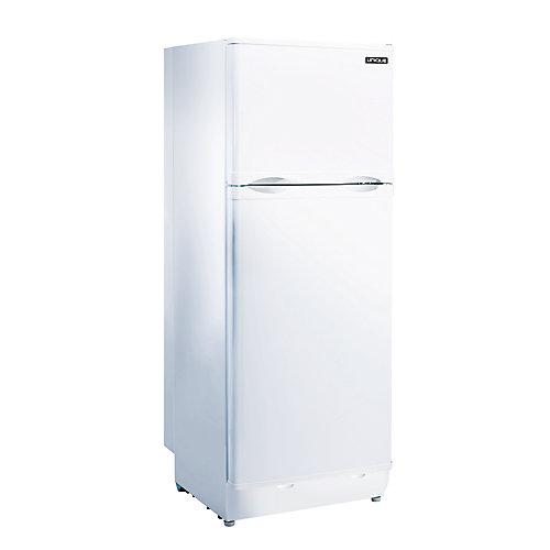 Réfrigérateur supérieur au propane de 9,7 pi3 à évent direct en blanc