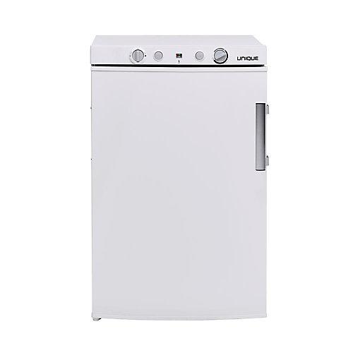 3.4 pi. Cu. Réfrigérateur au propane/110V/12V compacts portatif  Blanc