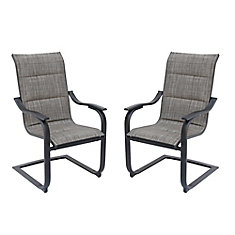 St. Lucia Padded Motion Sling Chairs, (Set of 2)
