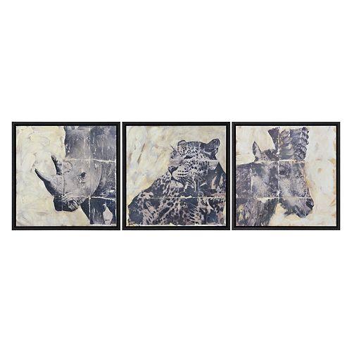Notre Dame Design 30-inch x 30-inch MDF Wyler Wall Art (3-Piece)