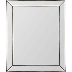 Notre Dame Design Lambton Traditional Framed Wall Mirror