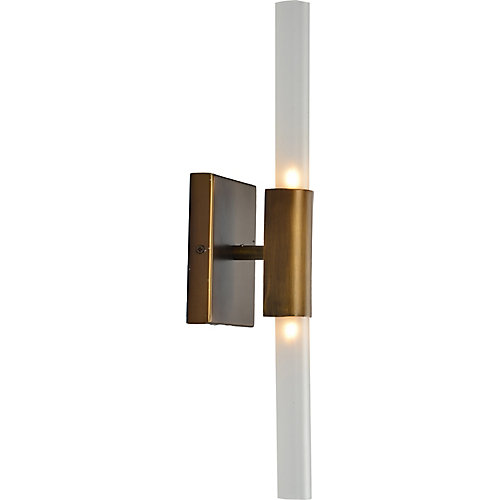 Sonoran 2-Light 5W Brushed Bronze Sconce