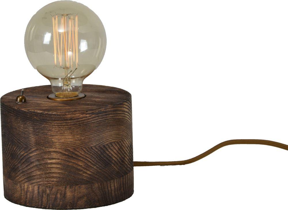 Renwil Abel 9.3-Inch Walnut Table Lamp