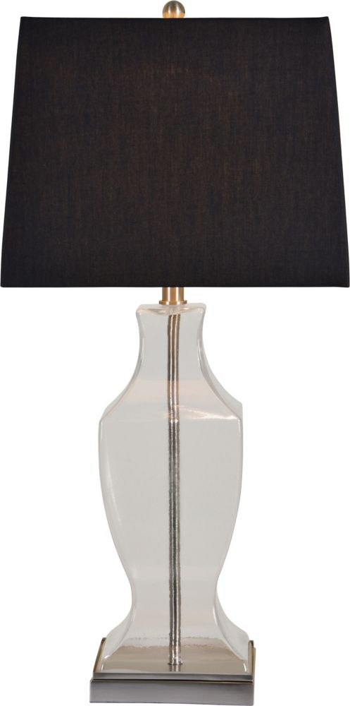 Hampton Bay Glass Font Accent Lamp The Home Depot Canada