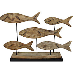 Arlie Decorative Sculpture in Natural