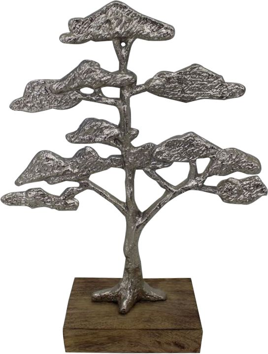 Renwil Arvore Decorative Sculpture in Silver