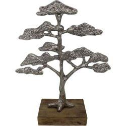 Notre Dame Design Arvore Decorative Sculpture in Silver