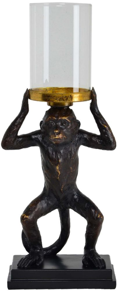 Renwil Leeds Copper Resin Traditional Candle Holder
