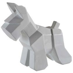"""Notre Dame Design Statue Décorative blanche """"Cornice"""" 13/12/7 po H x 14/11/7 L x 6/5/3 P (ensemble de 3-pièces)"""