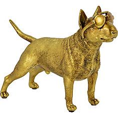 Scout Decorative Statue in Gold