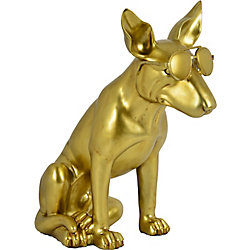 Notre Dame Design Otis Decorative Statue in Gold