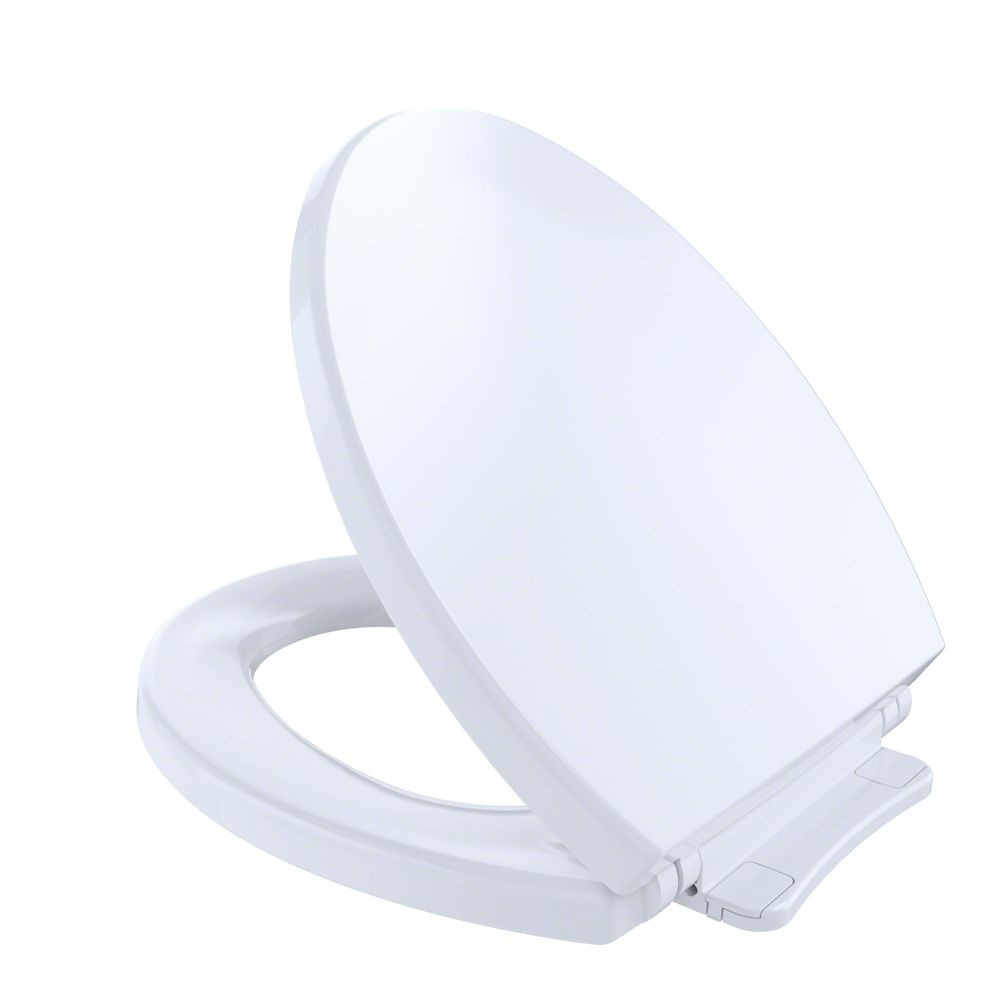toto softclosemd si ge de toilette rond et couvercle fermeture lente coton blanc home. Black Bedroom Furniture Sets. Home Design Ideas