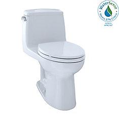 Eco UltraMax One-Piece Elongated 1.28 GPF ADA Compliant Toilet, Cotton White