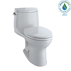 UltraMax II One-Piece Elongated 1.28 GPF Universal Height Toilet with CeFiONtect, Colonial White