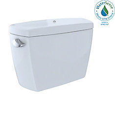 Eco Drake E-Max 1.28 GPF Insulated Toilet Tank with Bolt Down Lid, Cotton White