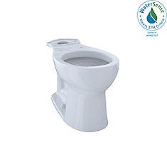 Entrada Universal Height Round Toilet Bowl, Cotton White