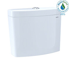 Aquia IV 1G Dual Flush 1.0 and 0.8 GPF Toilet Tank, Cotton White