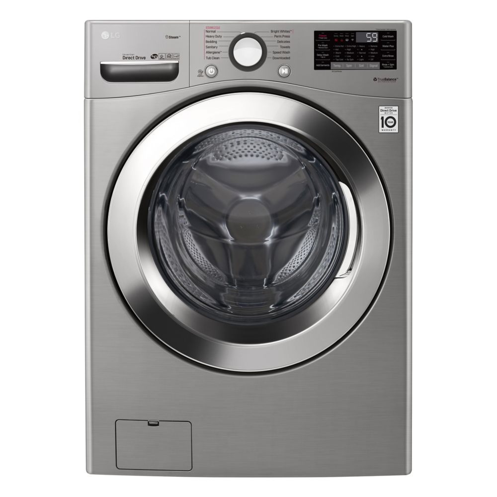 LG WM3700HVA 5.2 cu. ft. Ultra Large Capacity Front Load Washer with Steam