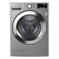 LG Electronics 5.2 cu. ft. Ultra Large Capacity Front Load Washer with Steam in Graphite Steel - ENERGY STAR®