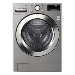 LG Electronics Laveuse à chargement frontal à super grande capacité à vapeur, 5,2pi3, acier inoxydable, graphite - ENERGY STAR®