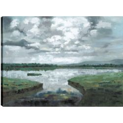 Art Maison Canada Lake View I, Landscape Art, Printed Canvas Unframed