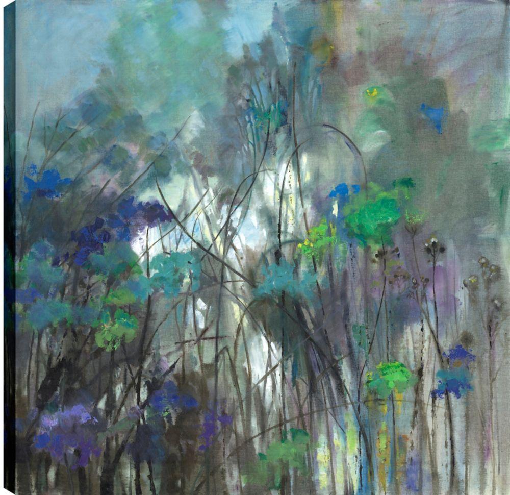 Art Maison Canada Trees I, Landscape Art, Printed Canvas Unframed