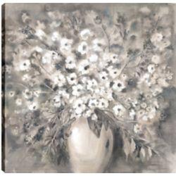 Art Maison Canada Flower Pot I, Floral Art, Printed Canvas Unframed