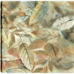Art Maison Canada Leafs III, Floral Art, Printed Canvas Unframed