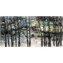 Art Maison Canada Bouleaux I, Art du paysage, toile imprimée sans cadre par