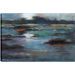 Art Maison Canada Blue Sea, Art du paysage, imprimé toile sans cadre par