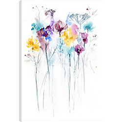 Art Maison Canada The Flowers XI, Abstract Art,  Printed Canvas Wall Art