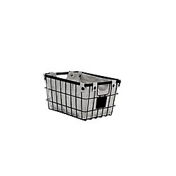 Small Wire Basket with Liner