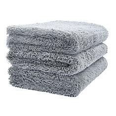 Plush Microfiber Cloth (3-Pack)
