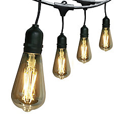 Feit Electric 30 ft. 15-Light LED String Light Set