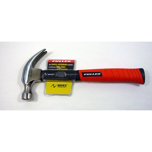 Fuller 20-Ounce Claw Hammer with Wavex Shock-Absorbing Shaft