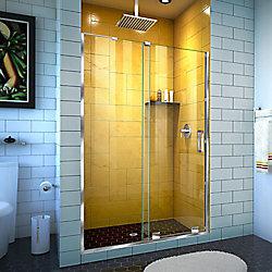 DreamLine Mirage-Z 44-48 inch W x 72 inch H Frameless Sliding Shower Door in Chrome