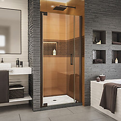 DreamLine Elegance-LS 34 1/2 - 36 1/2 inch W x 72 inch H Pivot Shower Door in Oil Rubbed Bronze