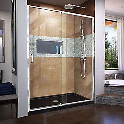 DreamLine Unidoor Lux 93.98 cm. W x 182.88 cm. H Articulé Porte de Douche en Bronze huilé