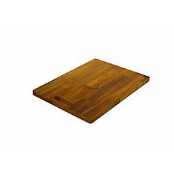 INTERBUILD Acacia, Butt Joint Chopping Board, Golden Teak, 400x300x20mm 16 inch x 12 inch x 0.75 inch